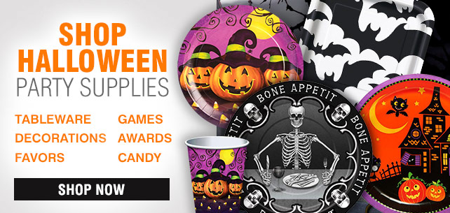 Shop For Halloween Party Supplies