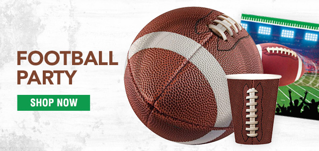 Shop For Football Party Supplies