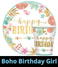 Boho Birthday Party Supplies