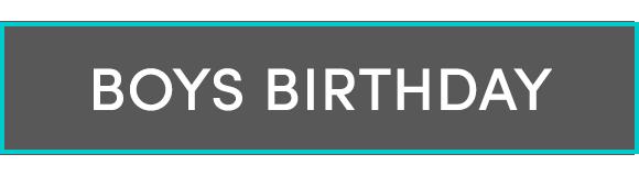 Boys Birthday Parties