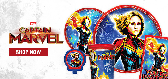 Shop For Captain Marvel Party Supplies