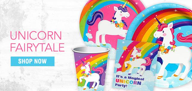 Shop For Unicorn Party Supplies